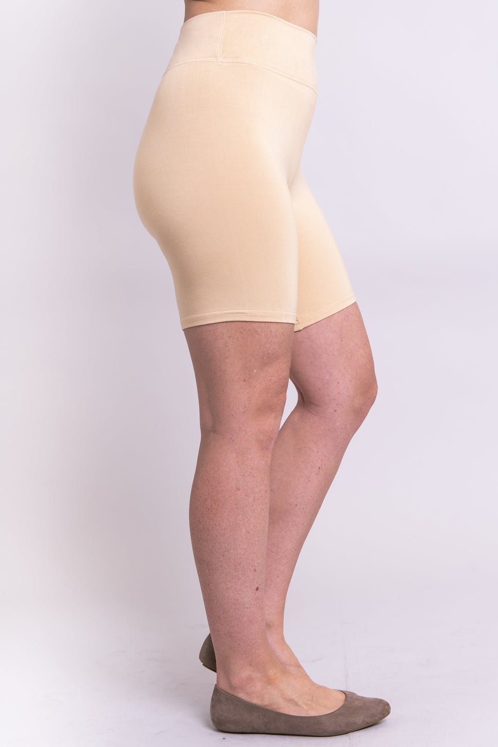 Hallie Undershorts, Beige - Blue Sky Clothing Co