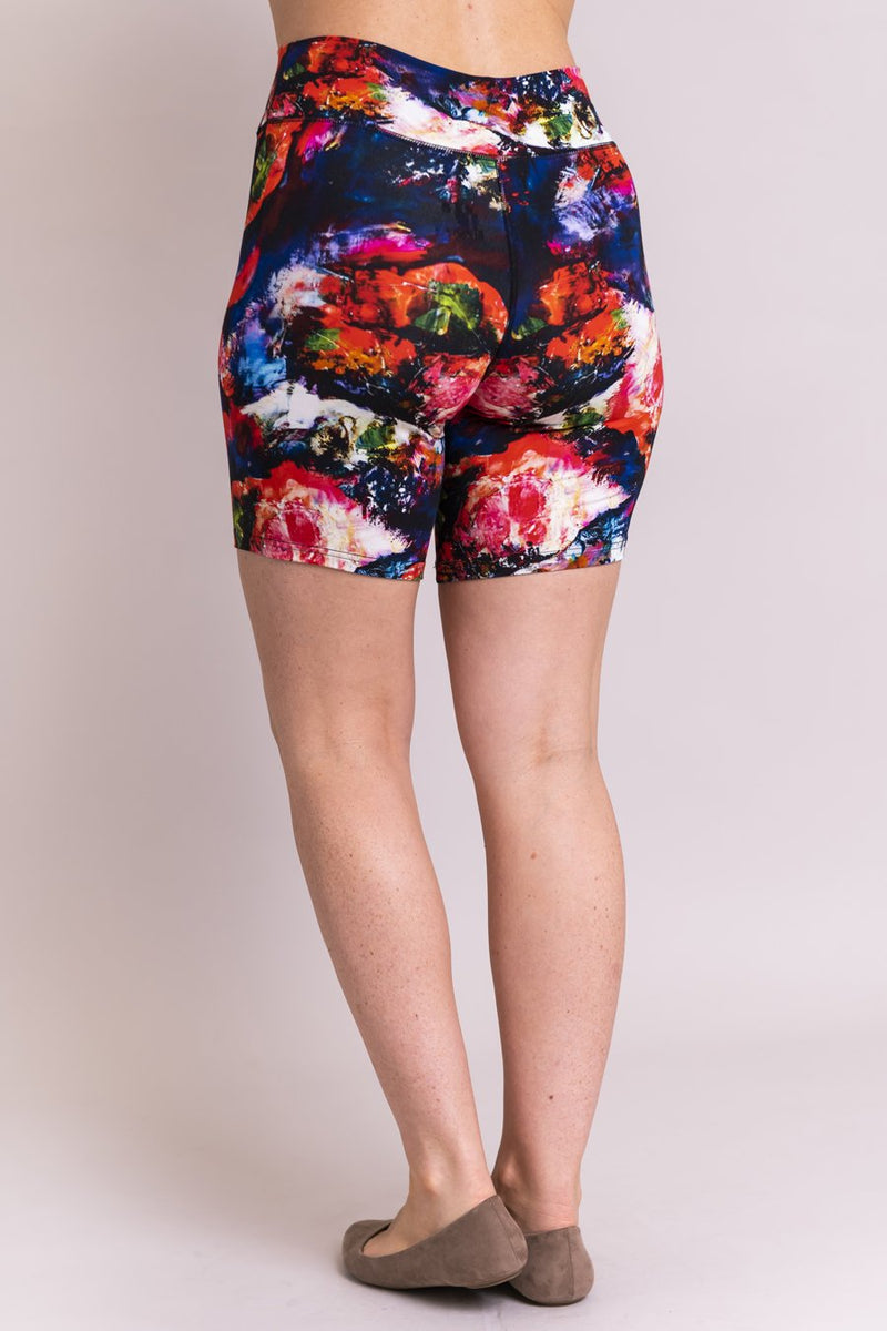 Hallie Shorts, Coral Dream, Bamboo