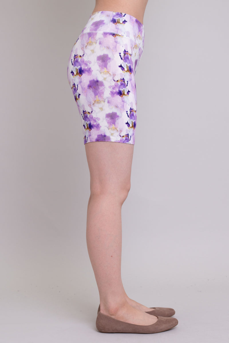 Hallie Shorts, Orchid Watercolours, Bamboo