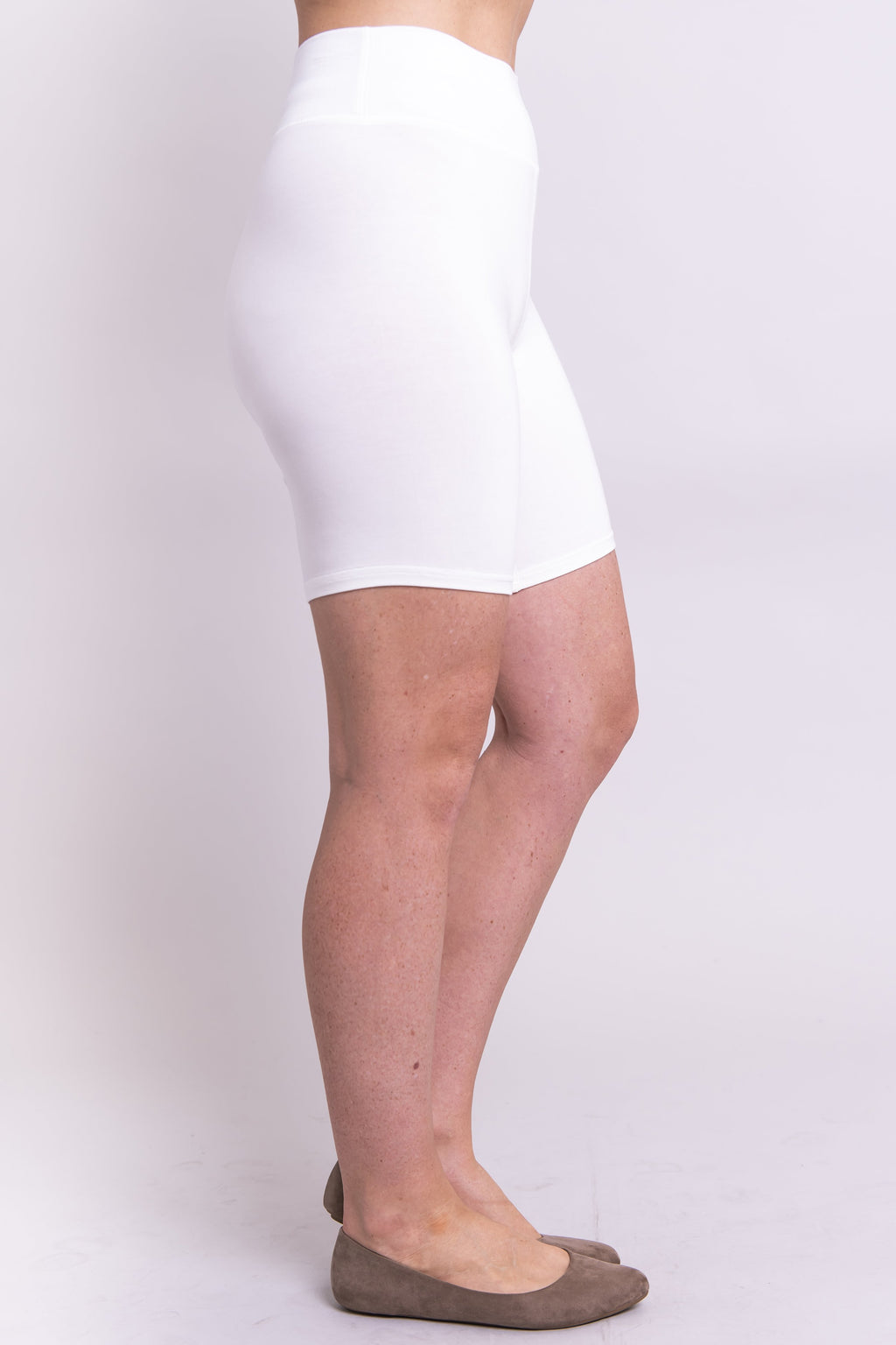 Hallie Undershorts, White - Blue Sky Clothing Co