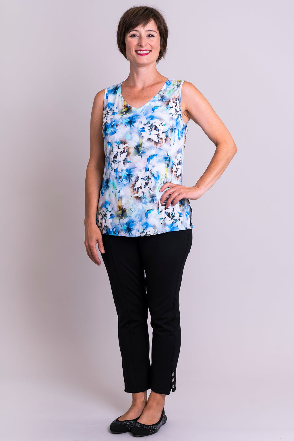 Hannah Tank, Legendary, Viscose - Blue Sky Clothing Co