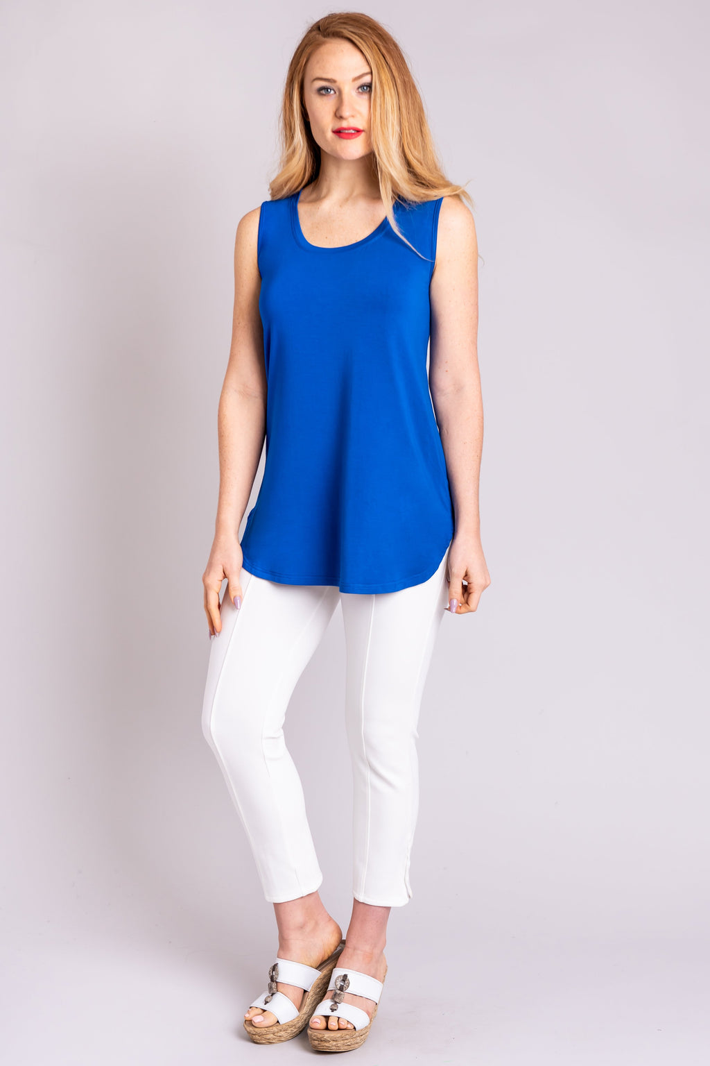 Jazz Tank, Cobalt - Blue Sky Clothing Co