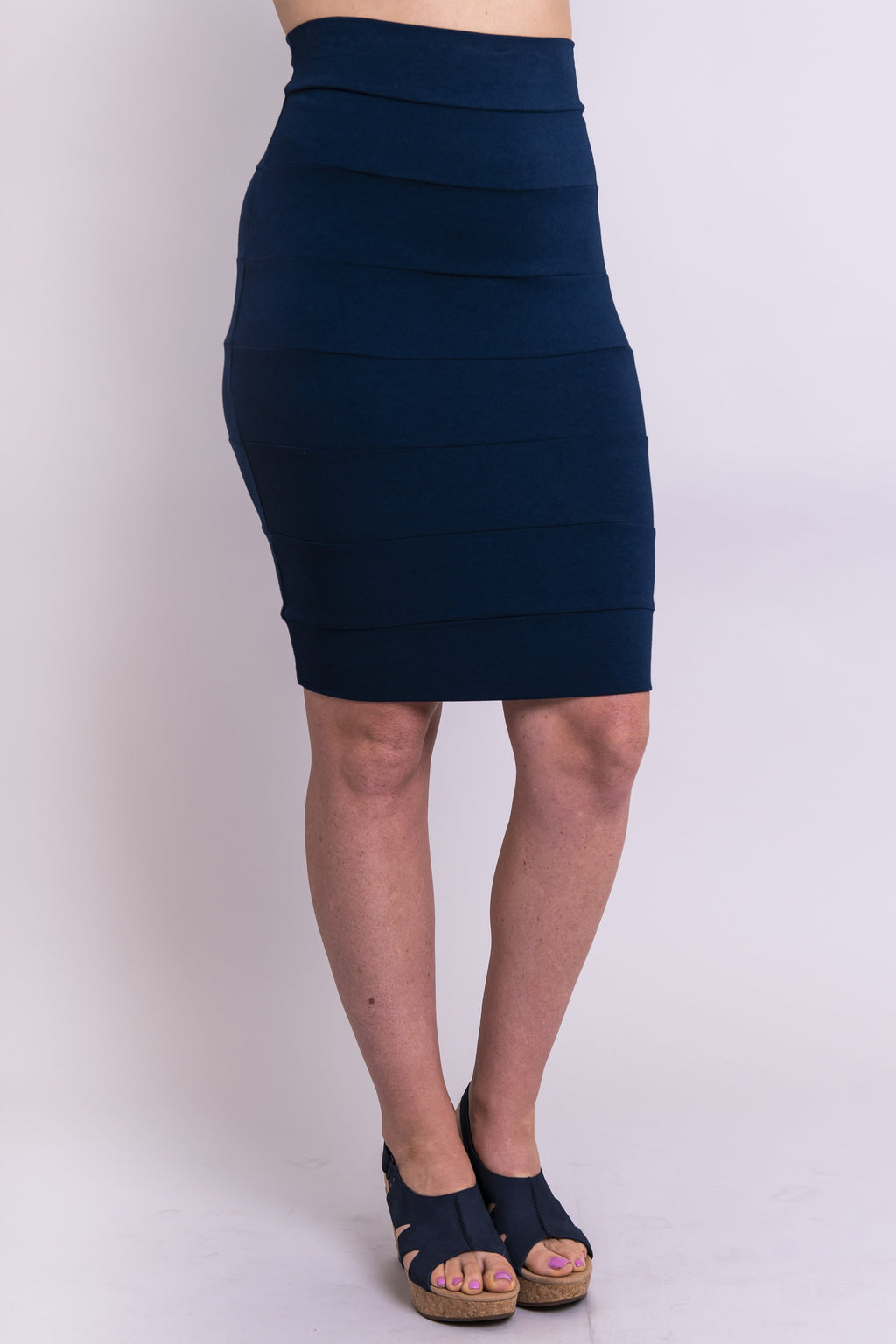 Jonelle Skirt, Indigo - Blue Sky Clothing Co