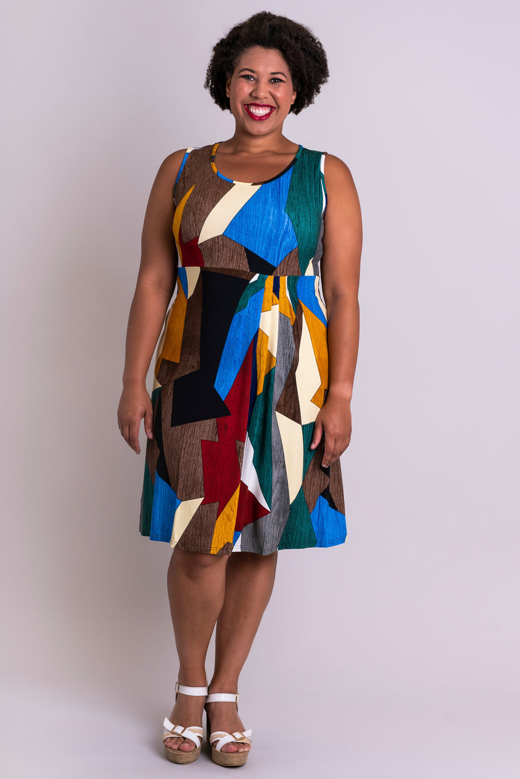 Judy Dress, Funky, Bamboo - Blue Sky Clothing Co