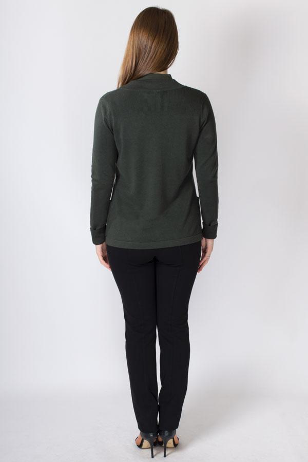 Kendall Sweater, Forest, Bamboo Cotton