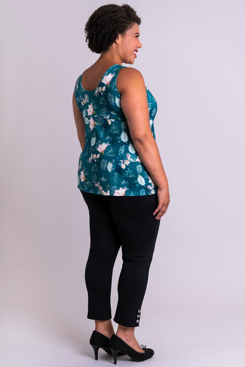 Kennedy Tank, Water Lily, Bamboo - Blue Sky Clothing Co