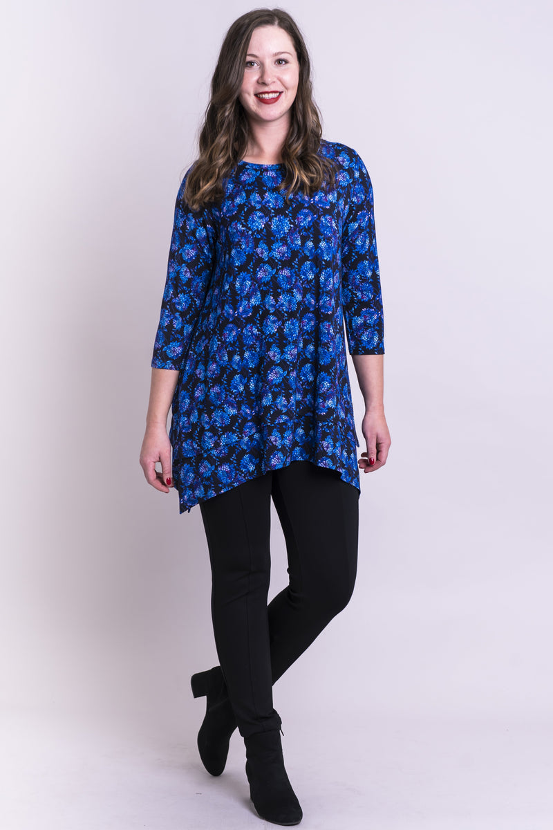Kindness Top, Violet Dahlia, Bamboo - Blue Sky Clothing Co