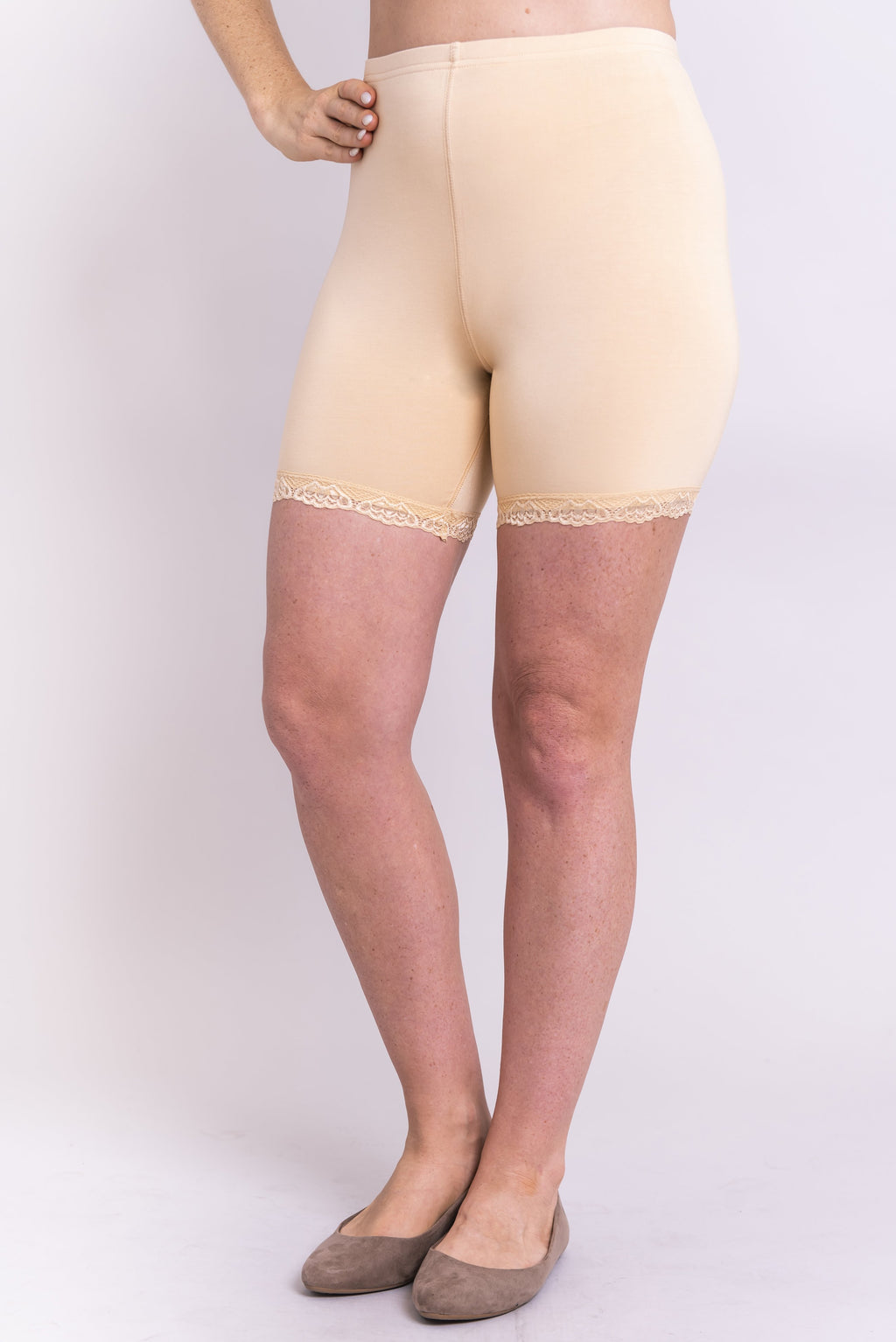 Kitty Undershorts, Beige