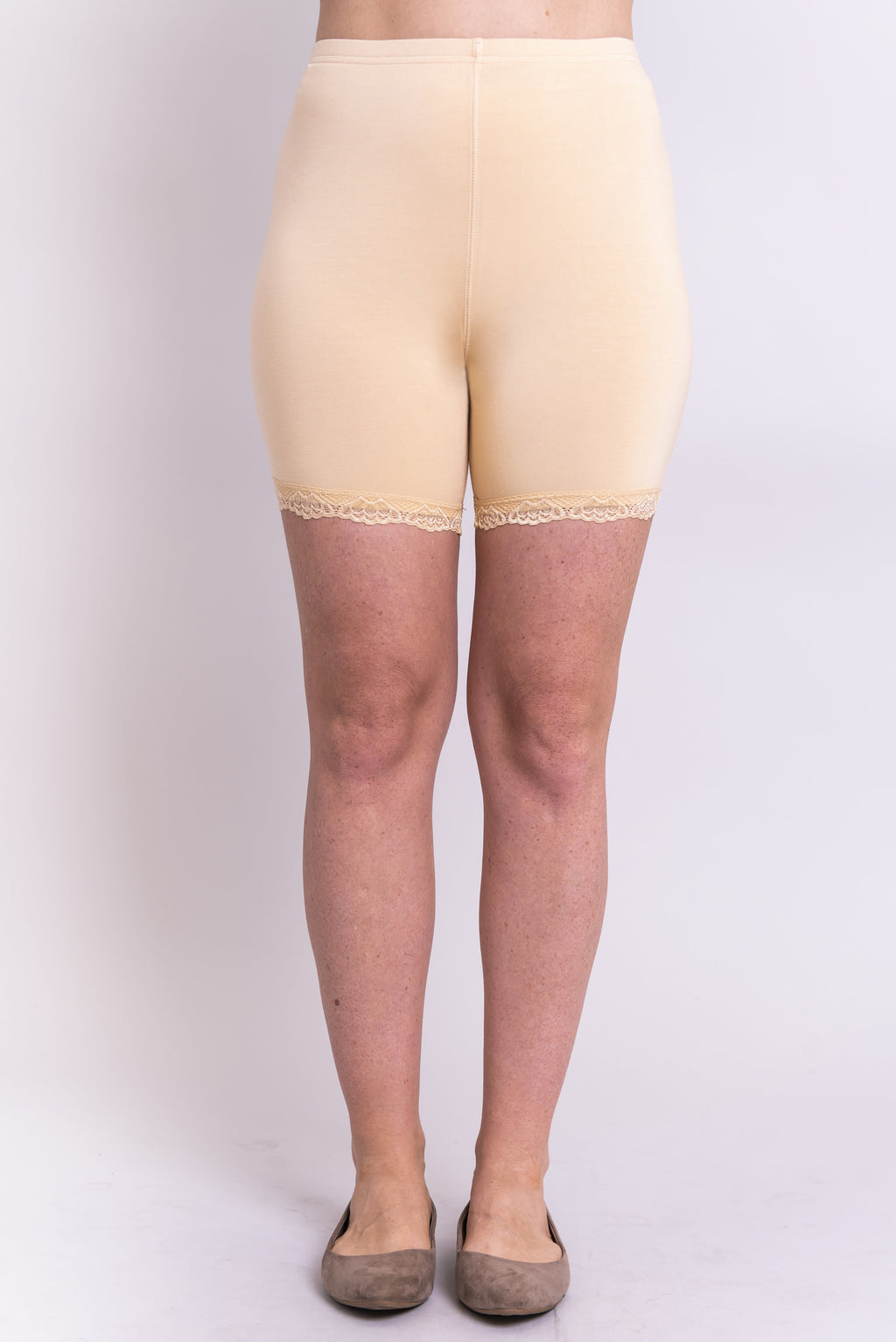Kitty Undershorts, Beige, Bamboo - Blue Sky Clothing Co