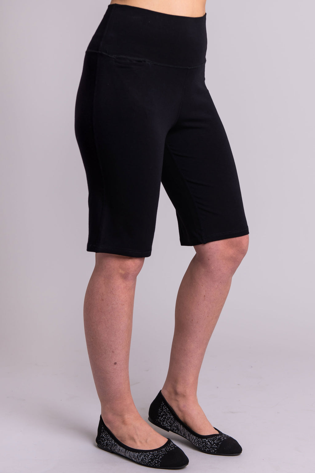 Leslie Short, Black, Bamboo - Blue Sky Clothing Co