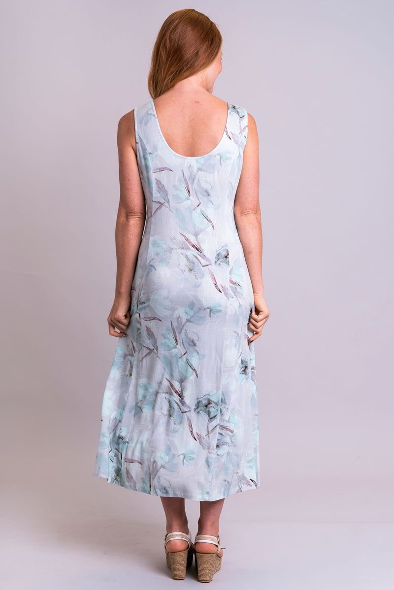 Madison Dress, Mintage, Linen Bamboo - Blue Sky Clothing Co