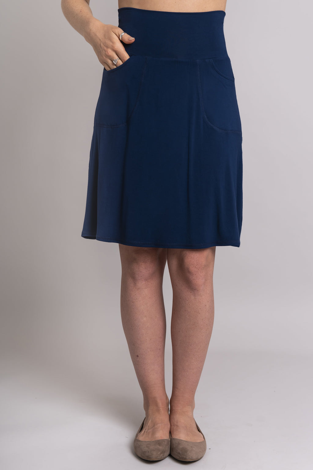 Magna Skort, Indigo - Blue Sky Clothing Co