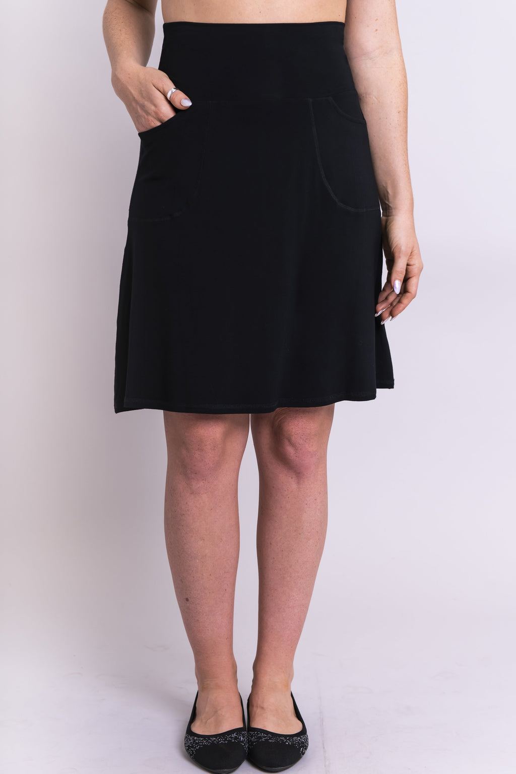 Magna Skort, Black - Blue Sky Clothing Co