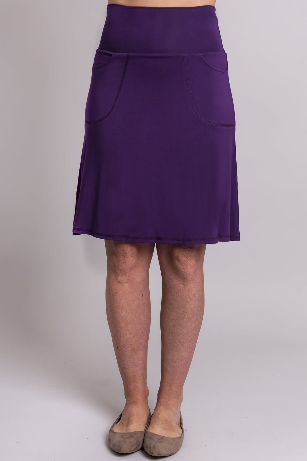 Magna Skort, Purple, Bamboo - Blue Sky Clothing Co