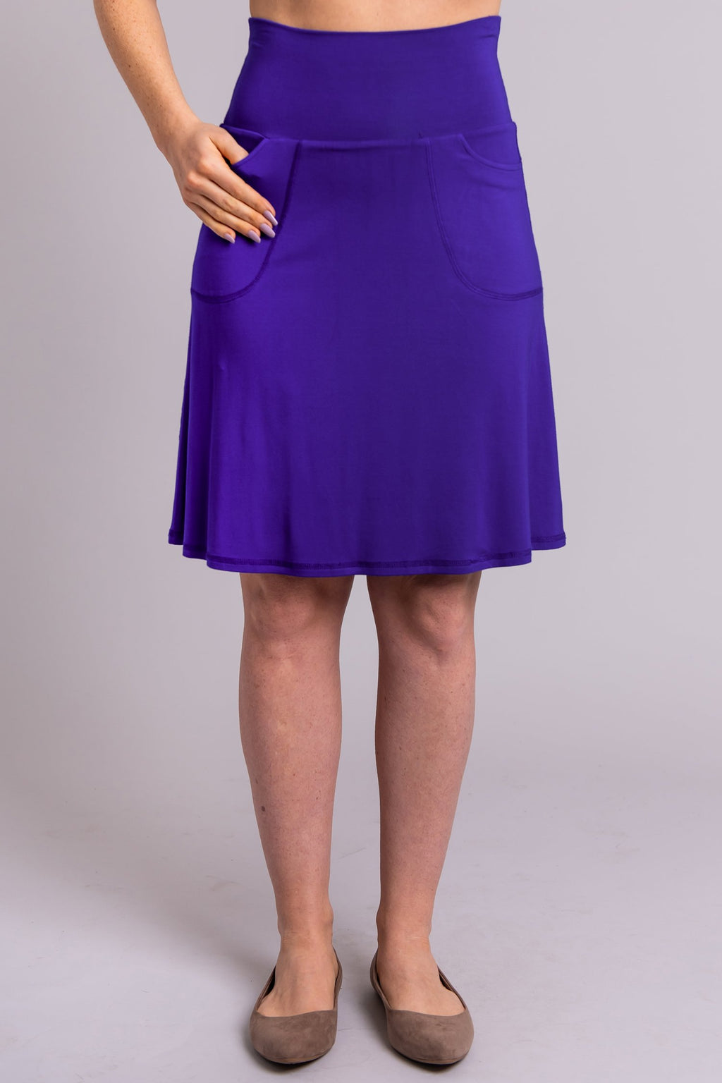 Magna Skort, Violet - Blue Sky Clothing Co