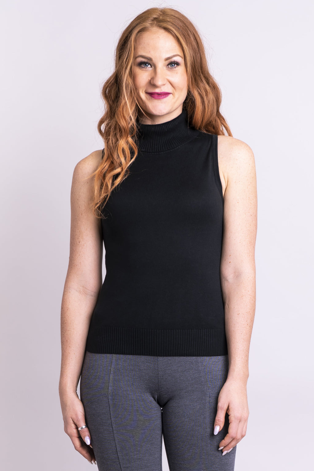 Malory Sweater, Black, Bamboo Cotton - Blue Sky Clothing Co