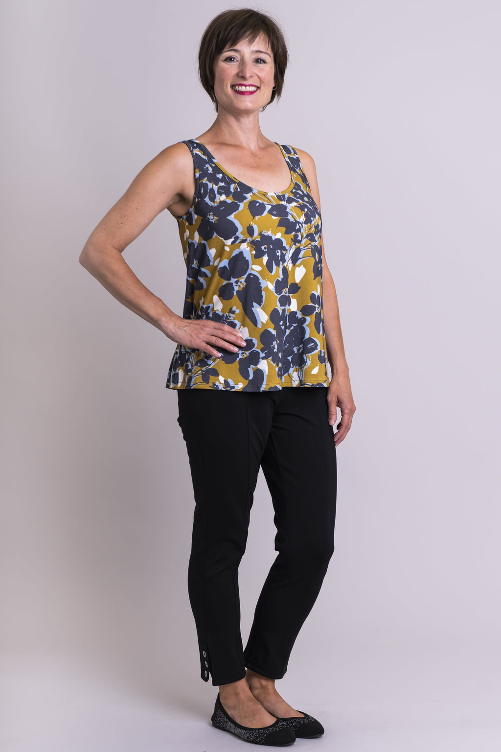 Marcie Tank, Clover Spice, Bamboo - Blue Sky Clothing Co