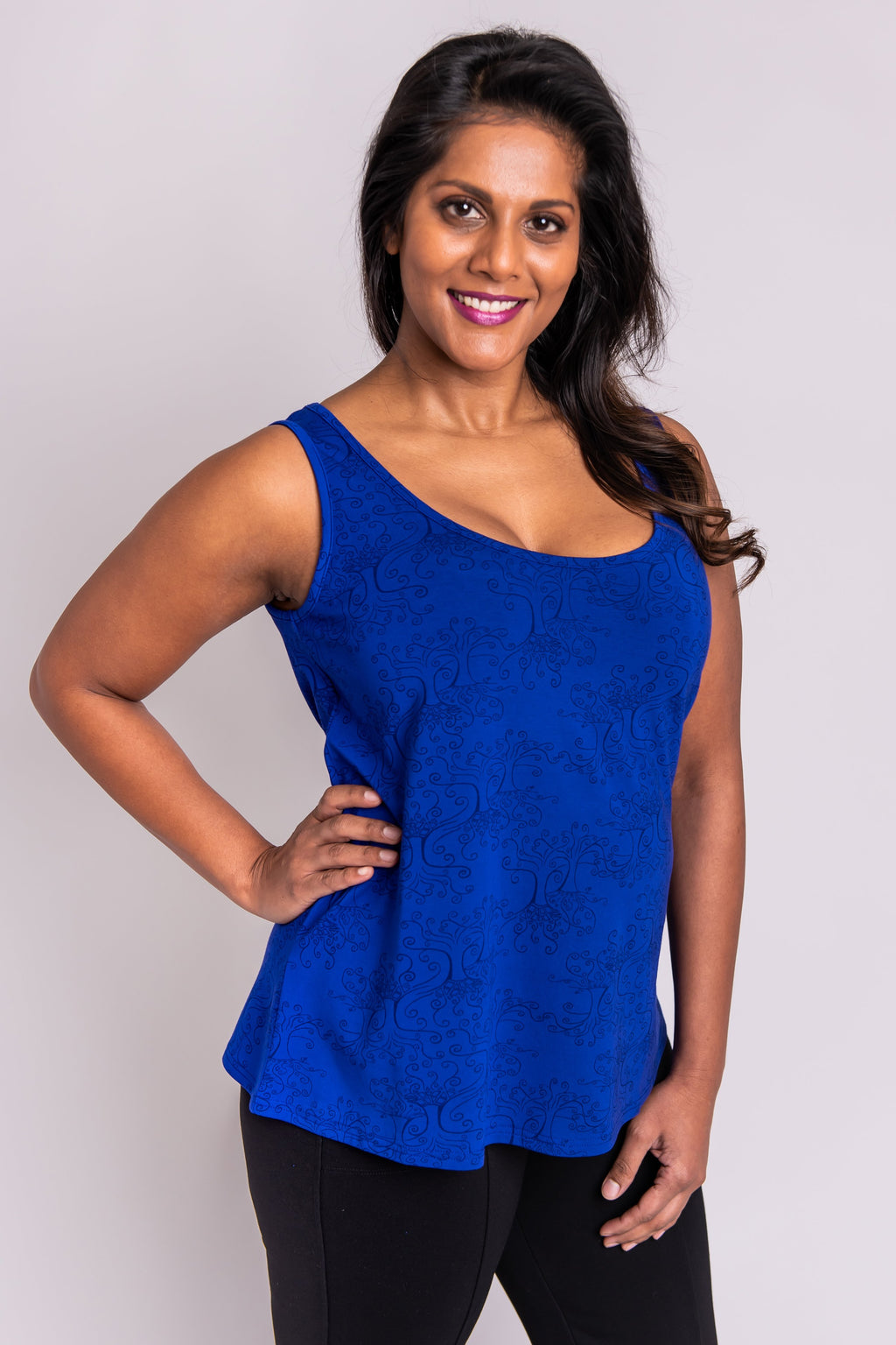 Marcie Tank, Violet Lifetree - Blue Sky Clothing Co