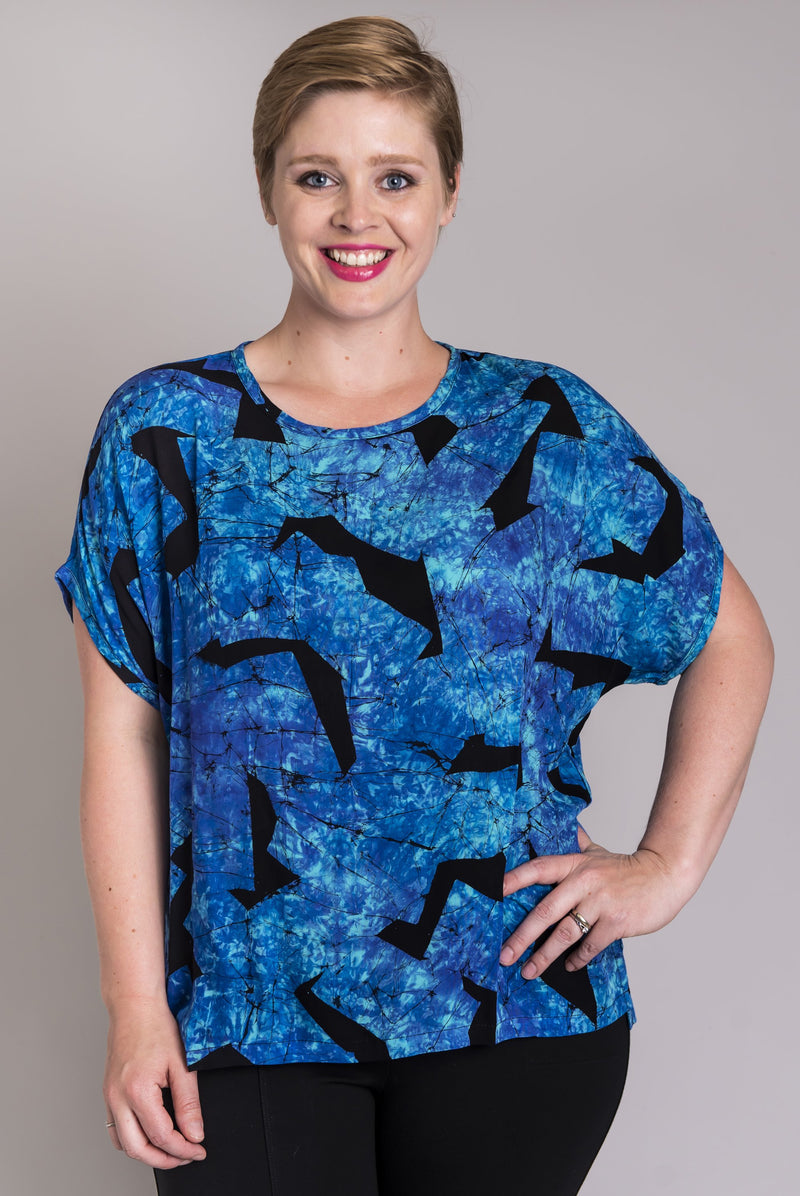 Mercury Top, Mosaic, Bamboo - Blue Sky Clothing Co