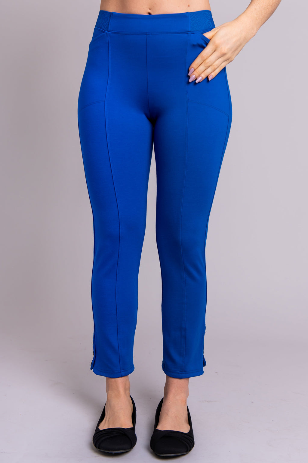 Nadine Pant, Cobalt, Modal - Blue Sky Clothing Co