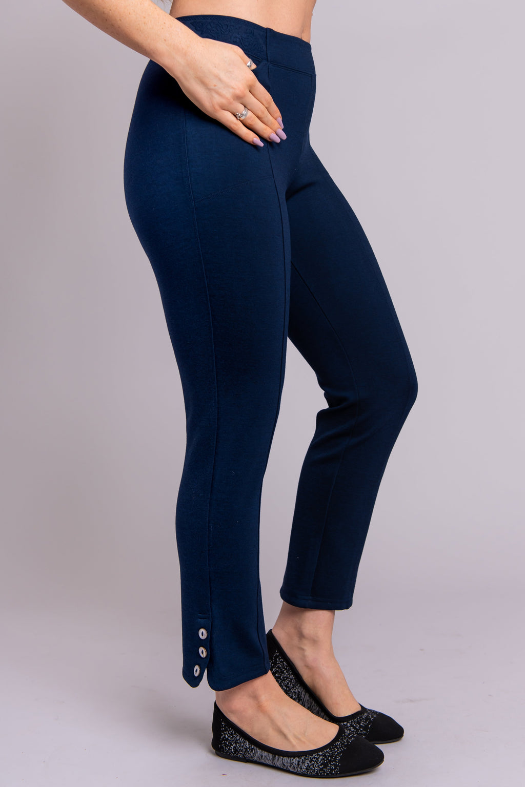 Nadine Pant, Indigo, Modal - Blue Sky Clothing Co
