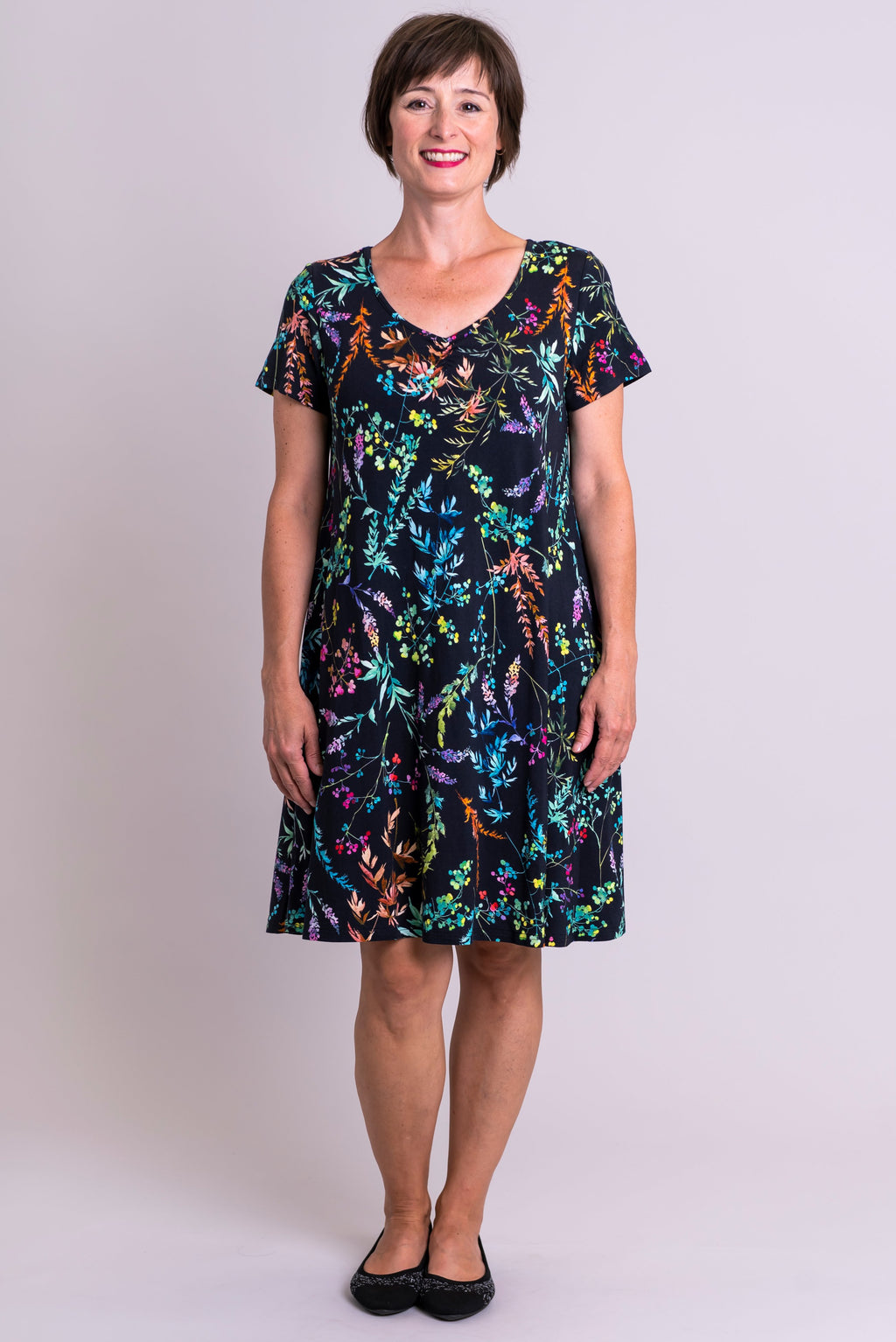 Nala Dress, Rainbow Valley, Bamboo - Blue Sky Clothing Co