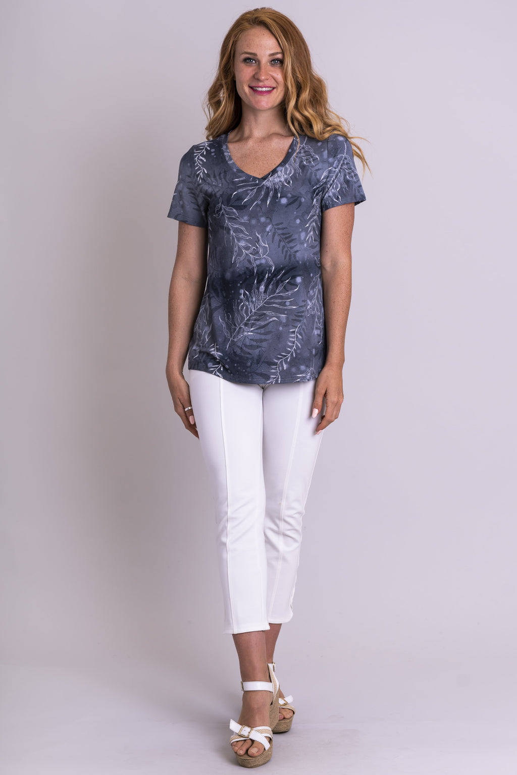 Peace Top, Grey Lady, Bamboo - Blue Sky Clothing Co