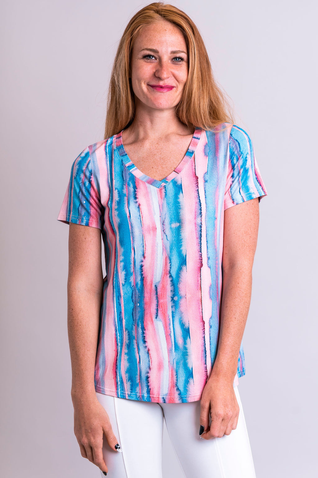 Peace Top, Lagoon, Bamboo - Blue Sky Clothing Co