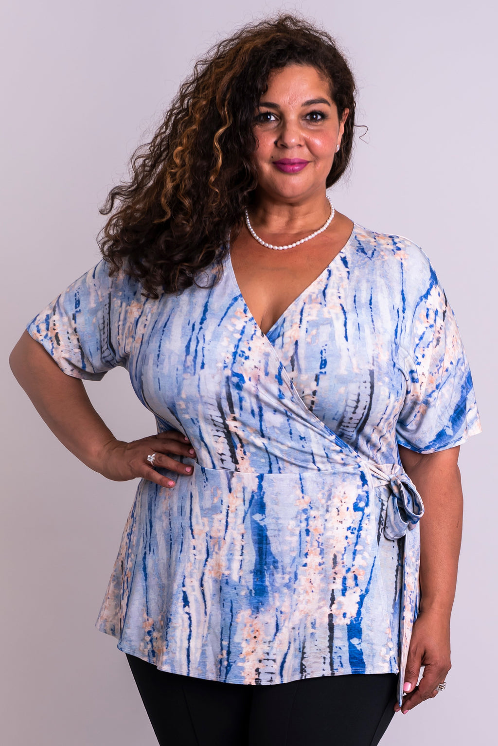 Pearl Top, Ocean Spirit, Bamboo - Blue Sky Clothing Co