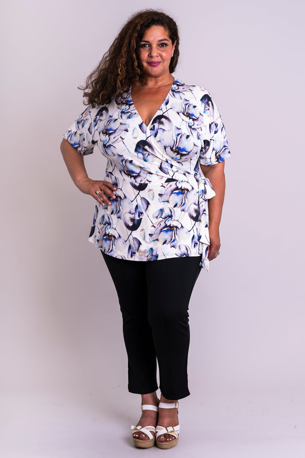Pearl Top, Secret Garden, Bamboo - Blue Sky Clothing Co