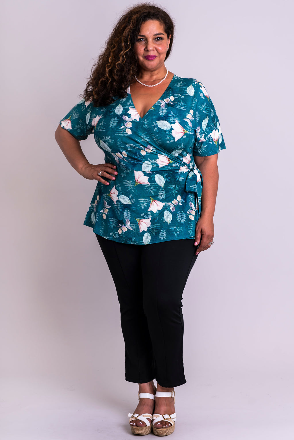 Pearl Top, Water Lily, Bamboo - Blue Sky Clothing Co