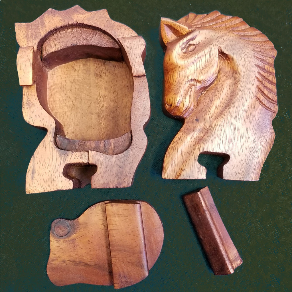 Puzzle Box, Horse Head - Blue Sky Clothing Co