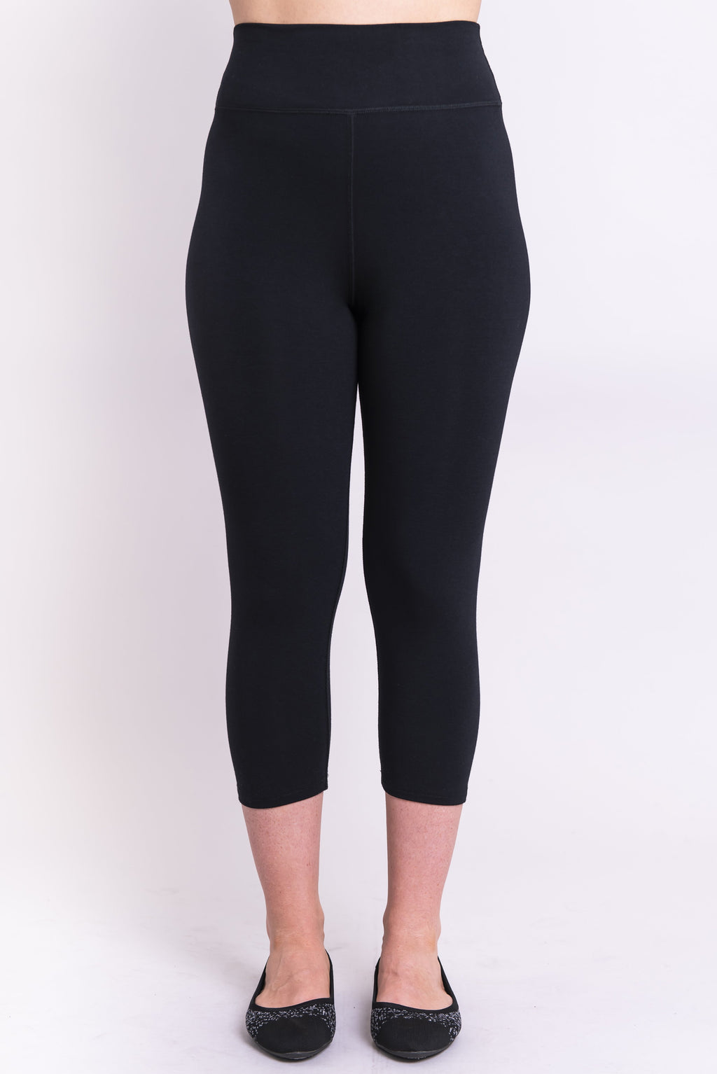 Riley Capri, Black, Bamboo - Blue Sky Clothing Co