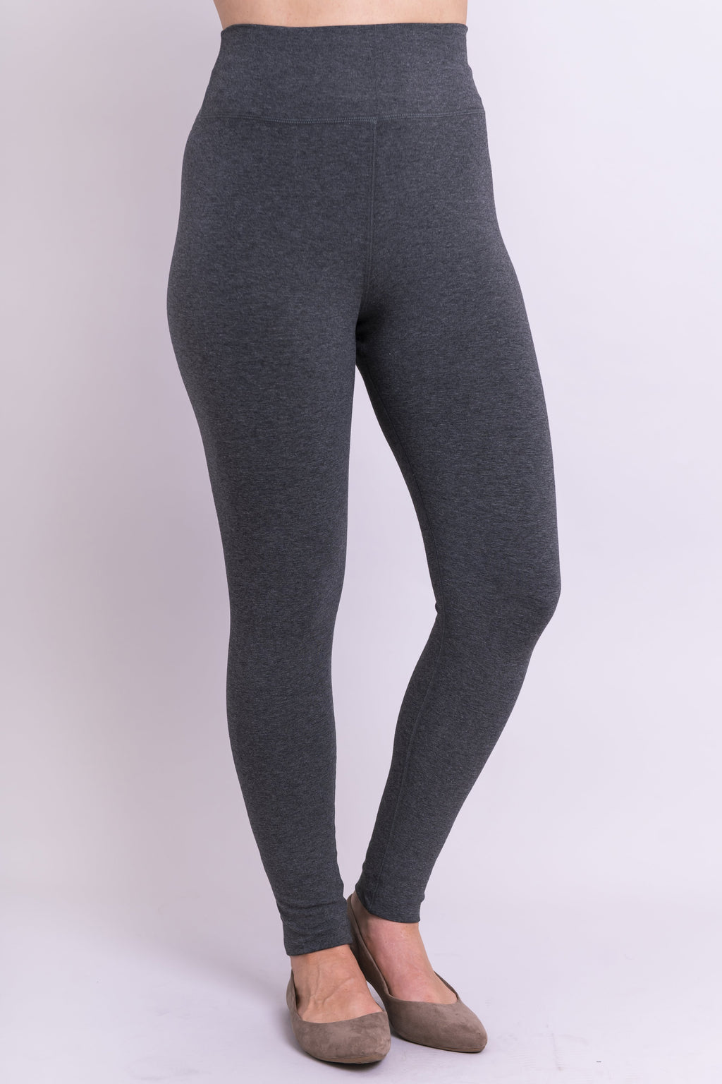 Riley Legging, Graphite, Bamboo - Blue Sky Clothing Co
