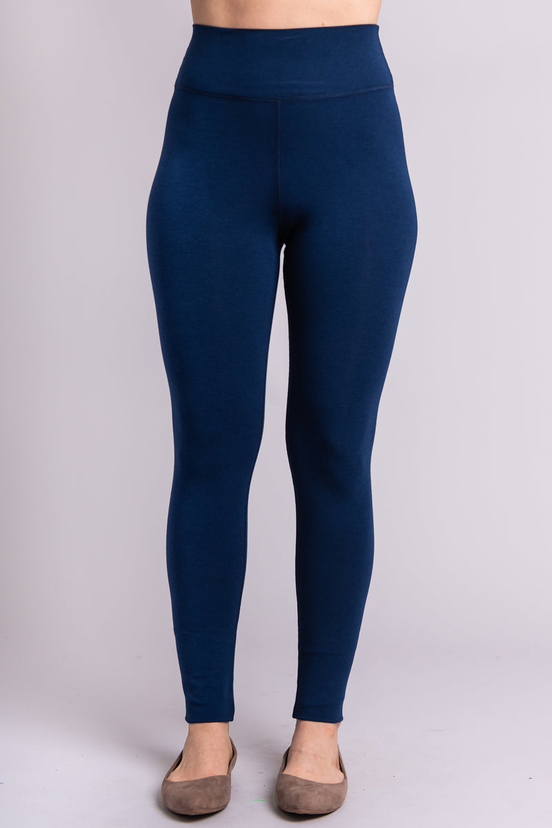 Riley Legging, Indigo - Blue Sky Clothing Co