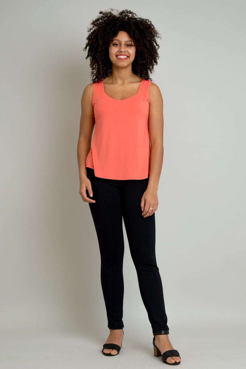 Ritzy Tank, Coral, Bamboo