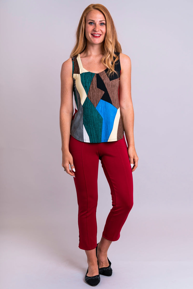 Ritzy Tank, Funky, Bamboo - Blue Sky Clothing Co