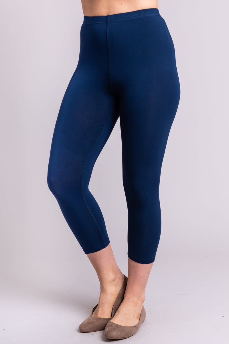 Ruby Capri, Indigo - Blue Sky Clothing Co