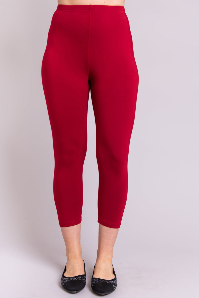 Ruby Capri, Lipstick, Bamboo - Blue Sky Clothing Co