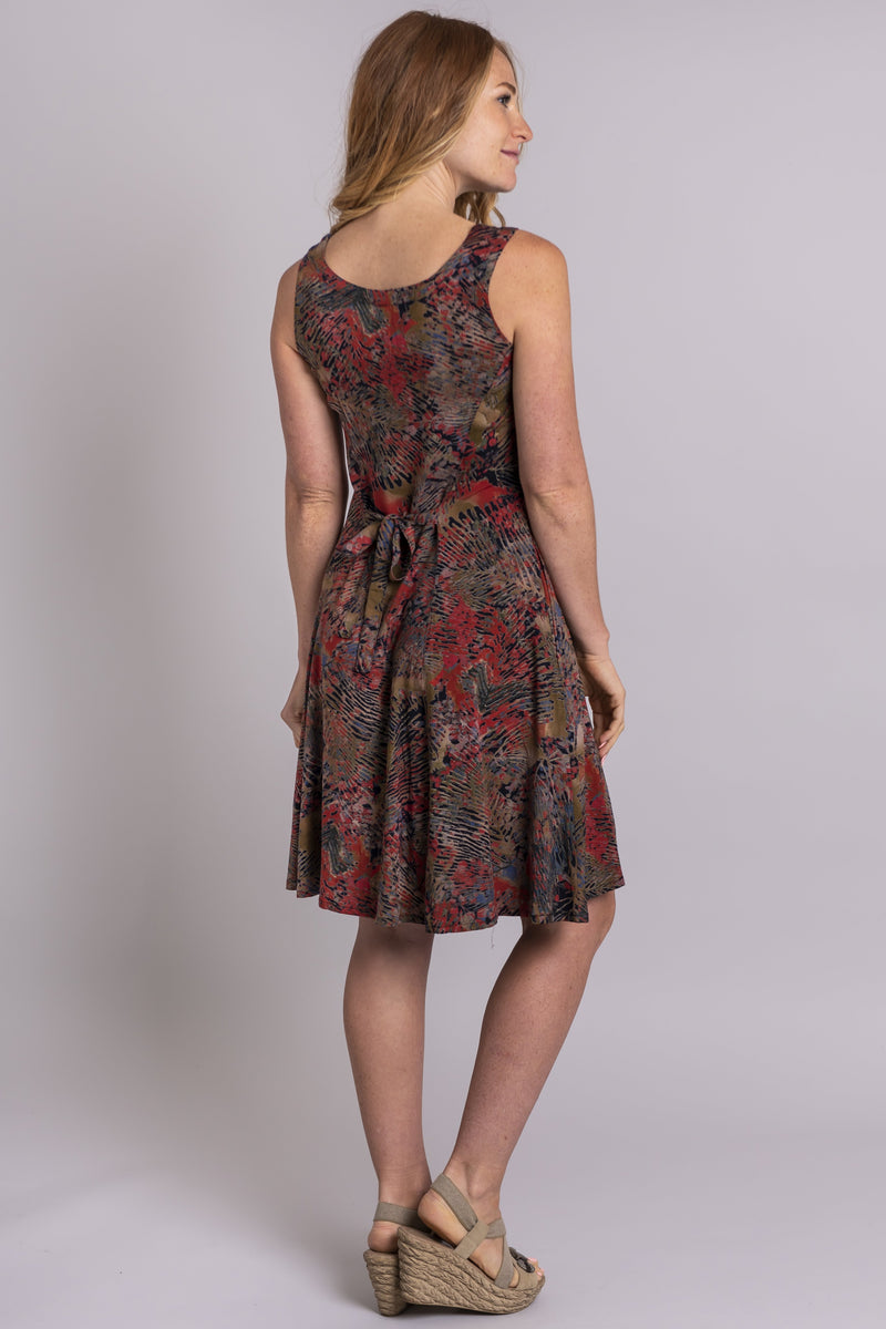 Sara Dress, Enchantment, Viscose - Blue Sky Clothing Co