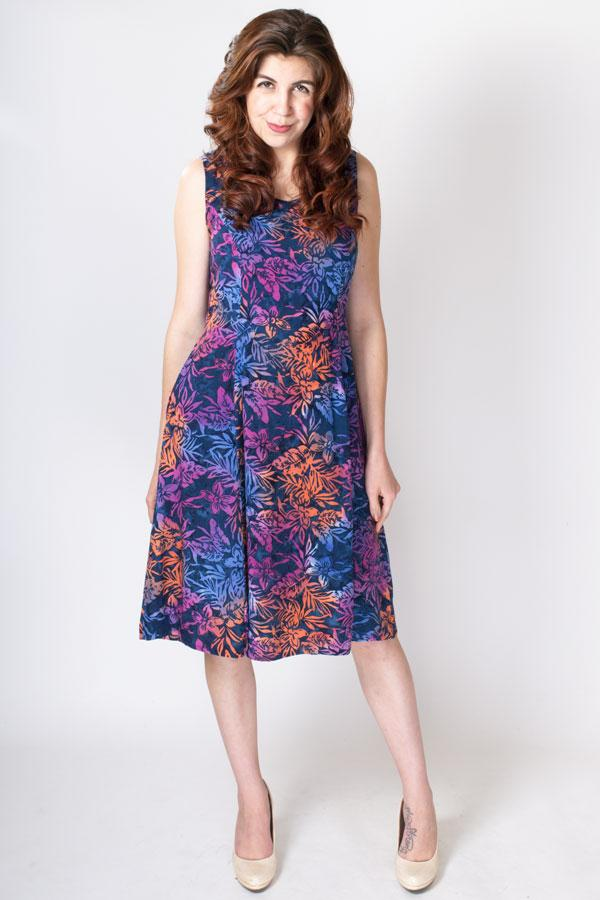Sweet Sara Dress, Evening Hues - Blue Sky Clothing Co