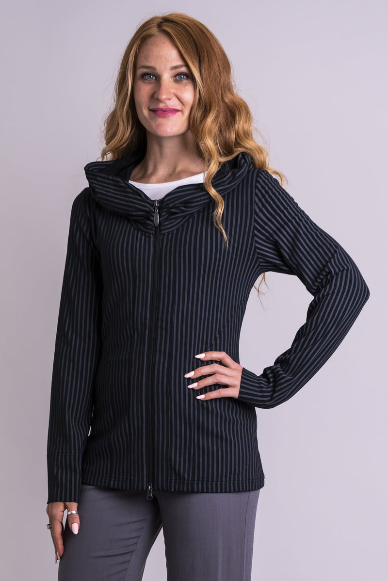 Seymour, Black/Grey Stripe, Bamboo - Blue Sky Clothing Co
