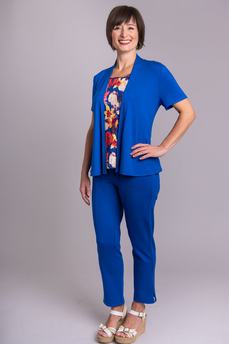 Sherry Jacket, Cobalt - Blue Sky Clothing Co