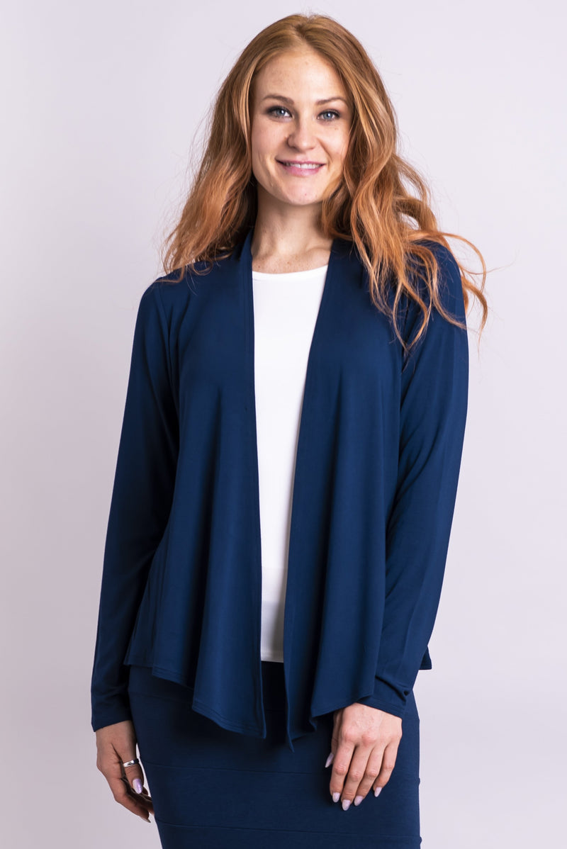 Snooky Jacket, Indigo - Blue Sky Clothing Co