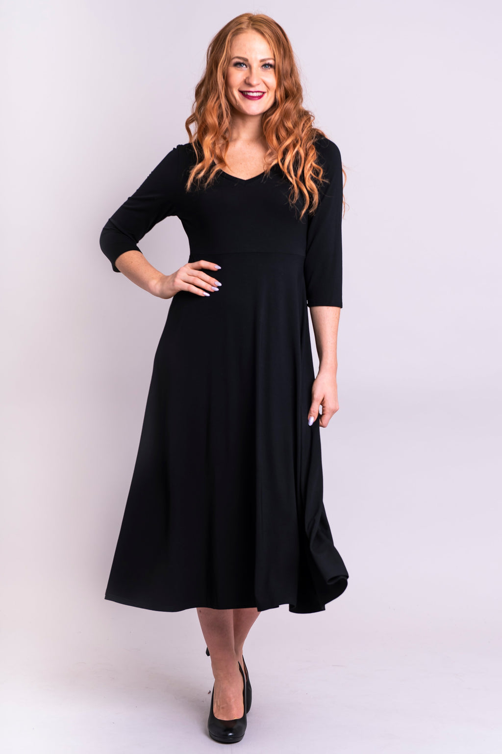 Soul Dress, Black, Bamboo - Blue Sky Clothing Co