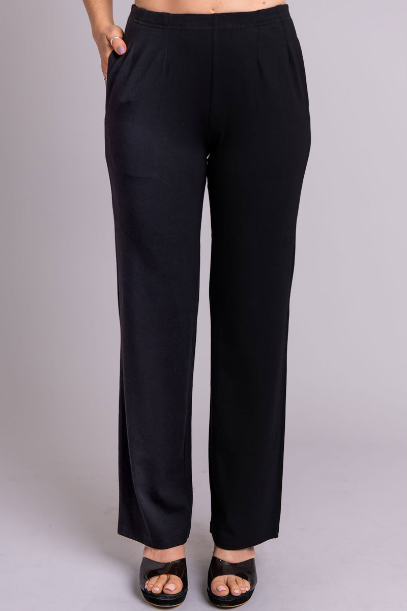 Susan Pant, Black, Bamboo - Blue Sky Clothing Co