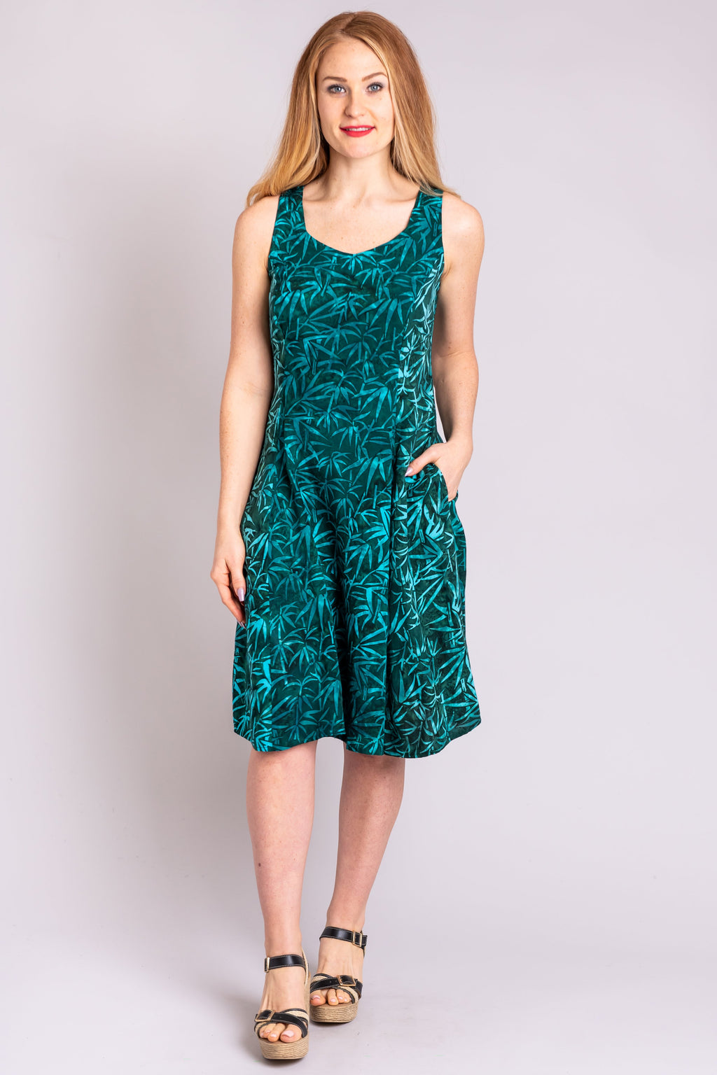 Sweet Sara Dress, Bamboo Forest