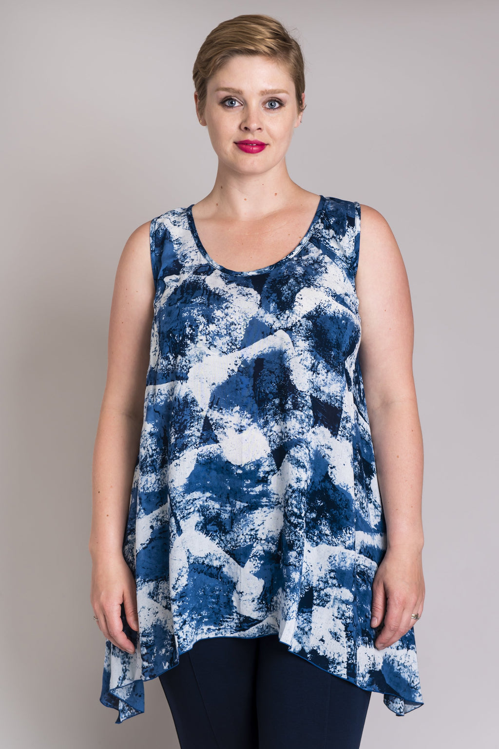 Swing Tank, Indigo Antique