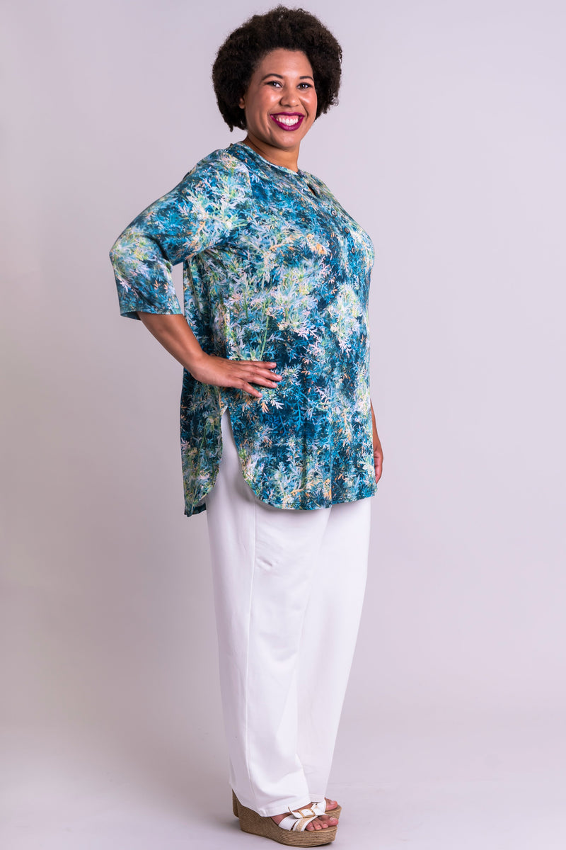 Tara Blouse, Fresh Sprig, Viscose