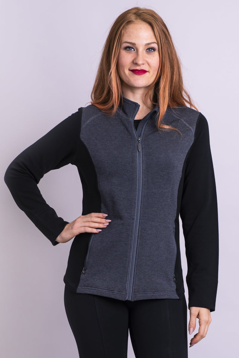 Terri Jacket, Black Granite - Blue Sky Clothing Co